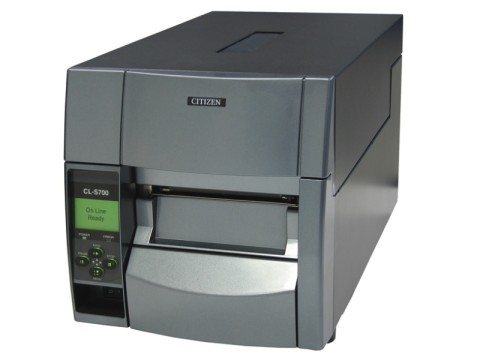 CL-S700DTII - Etikettendrucker, thermodirekt, 203dpi, USB + RS232 + Ethernet, grau