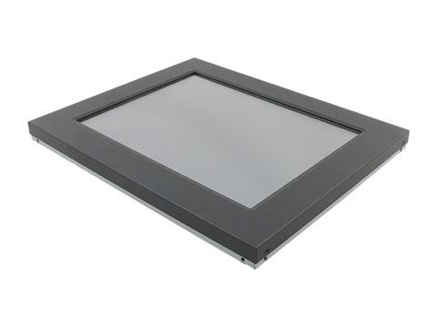 """Restposten OFT-1200-R - 30,48cm (12"""") Open Frame TFT (Einbaumonitor) mit Resitivem Touch und Frontblende, RS232 + USB Interface, VGA und DVI Eingang"""