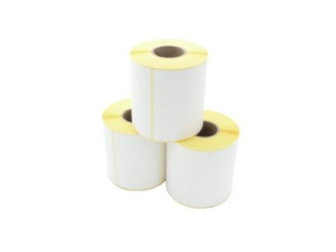 Etikettenrolle (Versandaufkleber DHL, UPS, DPD) - Thermodirekt, 101.6 x 152.4mm, D110mm, Kern 40, 320 Etiketten/Rolle, permanent