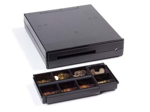 Universal UCD - Kassenschublade, 6-8 Münz- und 4-5 Scheinfächer, anthrazit, Schließung 1, 24V-Kit