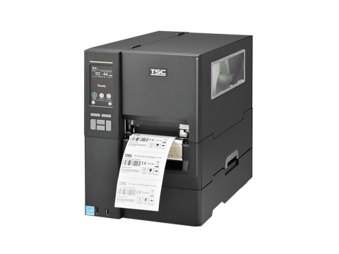 MH341P - Etikettendrucker, thermotransfer, 300dpi, USB + RS232 + Ethernet, interner Aufwickler