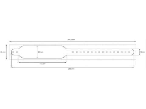 Safe-LCB - Clip Schnellverschluß Armbänder in weiß