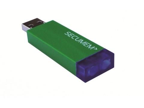 Secumem - Manipulationssicherer USB-Speicher-Stick (4GB) für Wirtschafts- und Vertragsdaten