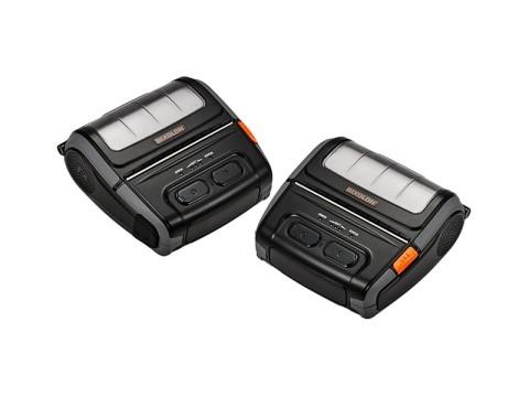SPP-R410 - Mobiler Thermodirekt-Bondrucker, USB + RS232 + Bluetooth (auch für iOS-Geräte), extra durchlässiger Sensor, schwarz