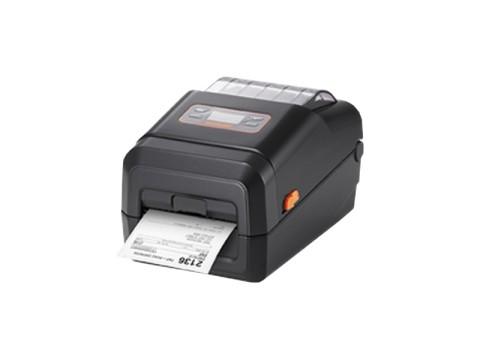 XL5-43 - Etikettendrucker für trägerlose Etiketten, thermodirekt, 300dpi, USB 2.0 + USB Host, 64MB SDRAM, 128MB Flash