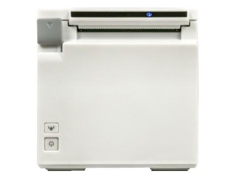 TM-m30F - Bon-Thermodrucker, Fiscal DE Zertifikatslaufzeit 5 Jahre, USB + Ethernet + WLAN, weiss