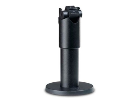 SpacePole - Standrohr, Höhe 120mm, schwarz, inkl. Kippgelenk für EC-Karten Terminal Halterung oder
