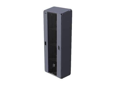 Cabinet X-Large - 4 Regale für bis zu 25 Geräte, Schloss mit 2 Schlüsseln