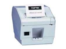 TSP847II AirPrint - Bon-Thermo-/Etikettendrucker mit Abschneider, 112mm, weiss