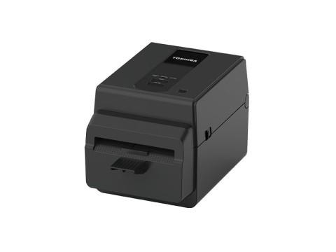 BV420D-GL02-QM-S - Etikettendrucker, thermodirekt, 203dpi, USB + Ethernet, Linerless mit integriertem Abschneider, schwarz