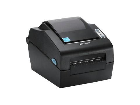 SLP-DX423 - Etikettendrucker, thermodirekt, 300dpi, USB + RS232 + Parallel, Peeler, dunkelgrau