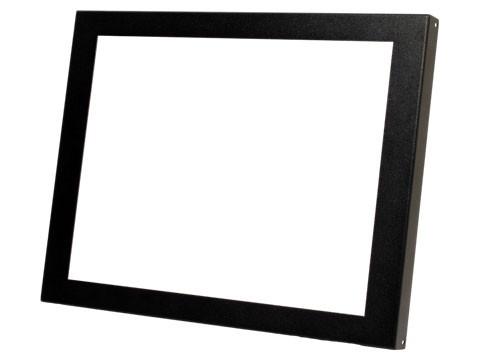 Frontblende, schwarz für Open Frame OF-1700