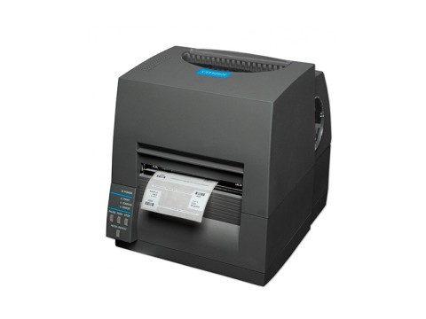 CL-S631II - Etikettendrucker, thermotransfer, 300dpi, USB + RS232, schwarz