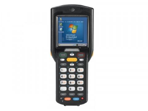 MC3200 - Mobil Computer mit 1D-Barcodescanner, 28 Tasten und erweiterter Batterie mit Windows CE 7 Pro