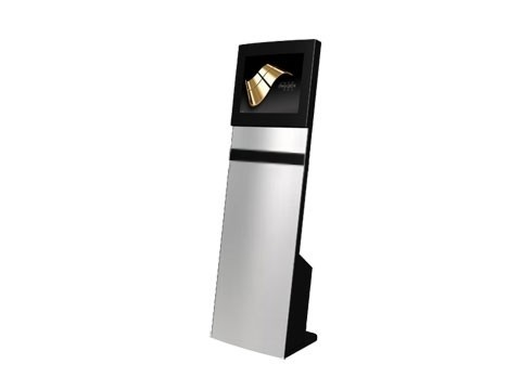 "IT-103-10 - Straight Info Tower * German Made - Kiosk-Informations-System mit 19"" (48,26cm) SAW-Touchmonitor, **Optional PC**"