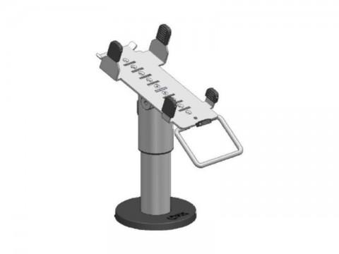 SpacePole Kit - Standfuß, 120mm Höhe, EC Terminal Halterung Ingenico ICT 250, schwarz