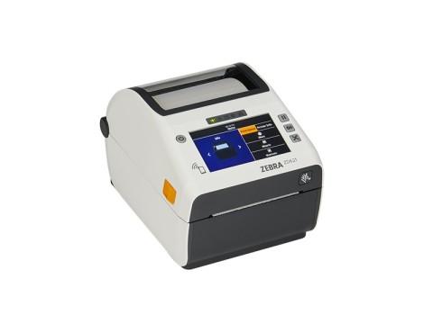 ZD621-HC - Etikettendrucker für das Gesundheitswesen, thermodirekt, 203dpi, USB + RS232 + Bluetooth BTLE5 + Ethernet + WLAN, Display, weiss