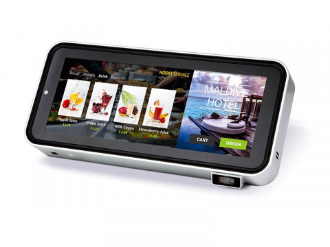 Pandora - Mini-Kiosk-System mit Android 7.1, kapazitiver Touch, Bluetooth, WiFi, 2GB DDR3L, 16GB eMMC, 2D-Barcodescanner, NFC, Kamera