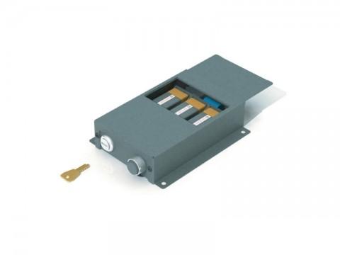 Kassenladenöffner - Taster - Box mit Auslöseknopf (ohne PC-Anbindung)
