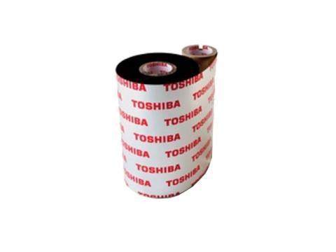 Farbband - Wachs/Harz Premium wischfeste Qualität hoher Standard, 600m x 76mm, schwarz, 1 Zoll-Kern, Außenwicklung