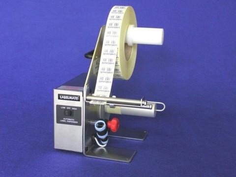 LD-200-RS-SS - automatischer Etikettenspender, Etikettenlänge 6-150mm, Edelstahl,