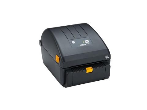 ZD230 - Etikettendrucker, thermodirekt, 203dpi, USB, Etikettenspender, schwarz