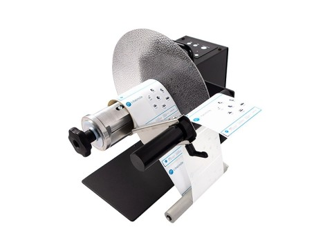 UNI-CAT-CHUCK - Externer Etiketten-Ab-/-Aufwickler, Easy-Load-Quick-Chuck für 76mm-Kerne, Rollendurchmesser 300mm, Etikettenbreite 170mm