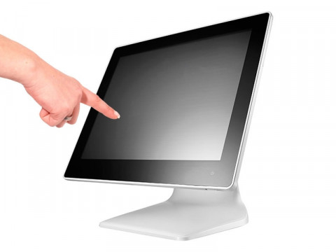 "APEXA-G J1900 - Lüfterloses Touchsystem mit Intel Celeron J1900 Quad Core und kapazitivem 15"" (38.1cm) Touchscreen, weiß"