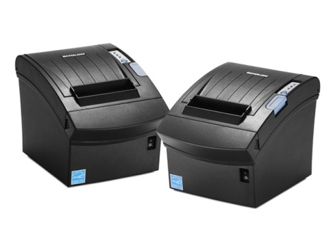 SRP-352III - Thermo-Bondrucker, 203dpi, 230mm/Sek., USB + Ethernet, schwarz