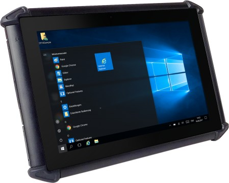 "DT-10 Xplore - Robustes 10"" Tablet, 4GB RAM, 64GB Speicher, inklusive Windows 10 IoT 64Bit"