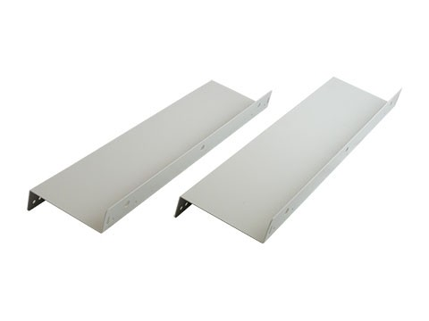 Unterbauvorrichtung / Untertischhalterung / Metall-Unterbauwinkel, hellgrau (2Stk li+re) für Kassenlade HS360, HS410, C3540, HS330 (4.5cm tiefer)