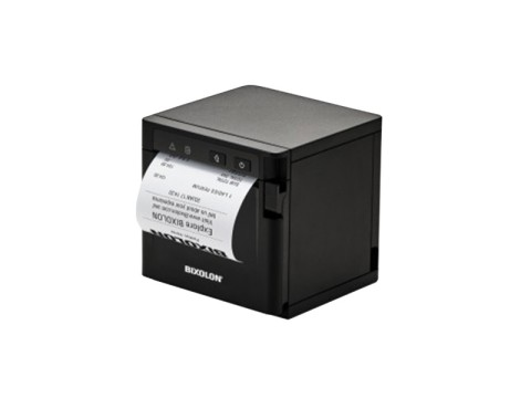 SRP-Q300B - Akkubetriebener Thermo-Bondrucker mit Front-Ausgabe, 180dpi, USB + Ethernet + WLAN, schwarz
