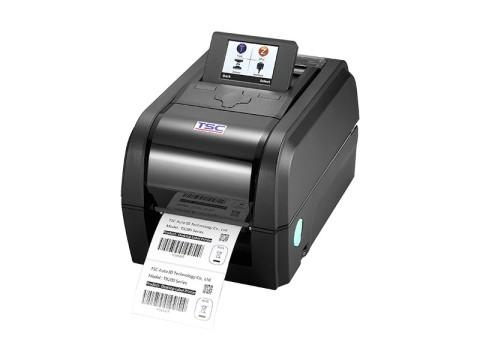 TX300 - Etikettendrucker, thermotransfer, 300dpi, USB + RS232 + Ethernet, Farbdisplay