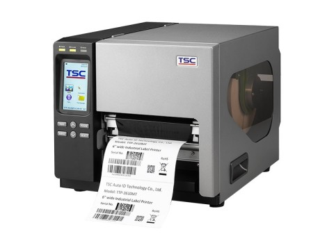 TTP-368MT - Etikettendrucker, thermotransfer, 300dpi, Farb-Touchdisplay, USB + RS232 + Parallel + Ethernet