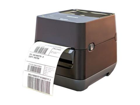 B-FV4D-GH14-QM-R Courier - Etikettendrucker, Thermodirekt, 203dpi, Druckkopf Flat Head, USB + RS232 + Ethernet, schwarz
