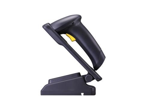 CC-1500 - CCD-Scanner, Multi-Interface, inkl. Auto-Sense Stand OHNE Bodengewicht, schwarz