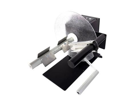 UNI-CAT-10-INCHES - Externer Etiketten-Ab-/-Aufwickler, Kern 76mm, Rollendurchmesser 300mm, Etikettenbreite 255mm