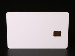Chipkarte SLE5542 mit Unterschriftsfeld (Nachfolger der 4442)