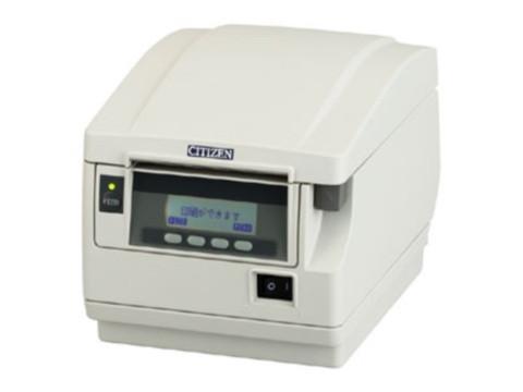 CT-S851 - High Speed Thermodrucker, Frontausgabe, ohne Schnittstelle, weiss