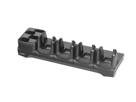 4-fach Ladestation für 4 Geräte und 4 Akkus für MC3300 und MC3300x