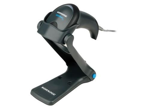 QuickScan I Lite - QW2120 - CCD-Barcodescanner, USB-KIT, Standfuss, schwarz
