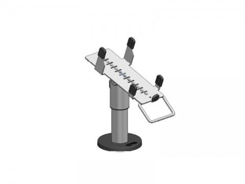SpacePole Kit - Standfuß, 120mm Höhe, EC Terminal Halterung iPP 480, schwarz