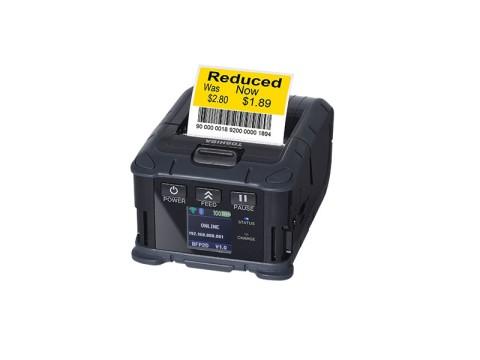 B-FP2D-GH30-QM-S - Mobiler Beleg- und Etikettendrucker, 58mm, USB + Bluetooth