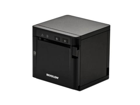 SRP-Q300B - Akkubetriebener Thermo-Bondrucker mit Front-Ausgabe, 80mm, 180dpi, USB + Ethernet, schwarz