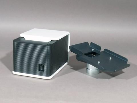 Adapter für Bondrucker AP-A10, schwarz für Flexi stand Standfuß