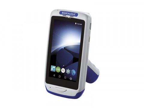 Joya Touch A6 Pistolengriff - Mobiler Computer mit rotem 2D-Imager, Android 7.1 Nougat, grau-blau