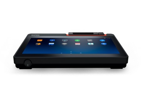 "T2 mini - Touchsystem, 11.6"" Widescreen Display, 80mm Bondrucker, Android 7.1, NFC, Kamera, 4G"