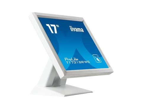 "ProLite T1731SR-W5 - 17"" Touchmonitor, Resistiv, USB, weiss"