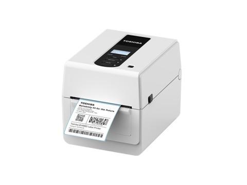 BV410D-TS02-QM-S - Etikettendrucker, thermodirekt, 300dpi, USB + Ethernet, LCD-Display, weiss