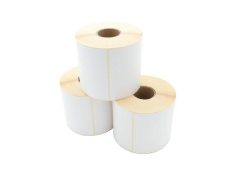 Etikettenrolle - Thermotransfer, 101.6 x 76.2mm, D125mm, Kern 40, 960 Etiketten/Rolle, permanent **perforiert**